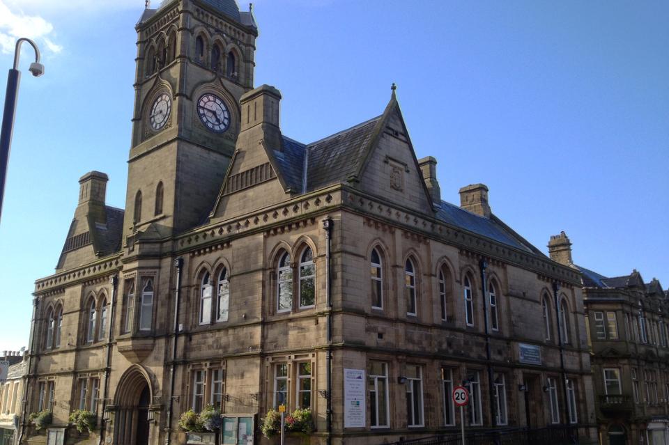 Weddings come back to Colne Town Hall