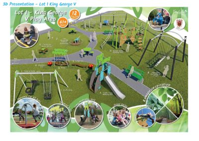 King George V Play Area Upgrade Plan Colne