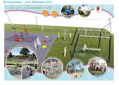 Alkincoates Park Colne Upgrade