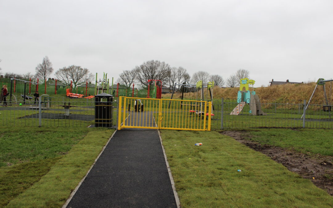 Completion of the Playground Upgrade Project in Colne