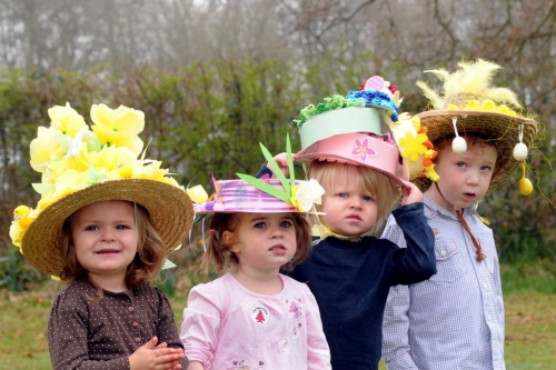 Easter-Bonnets-Group